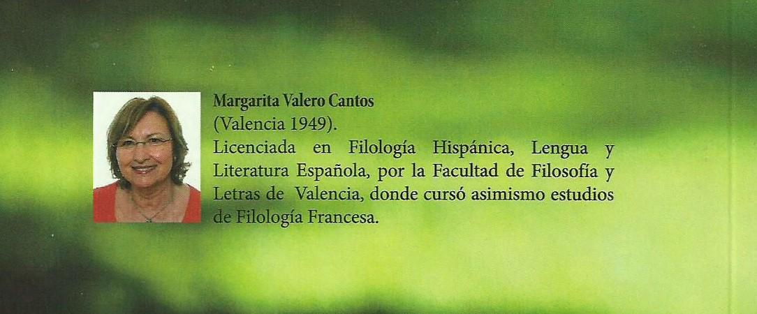 Palabras en imagen: MARGARITA VALERO CANTOS