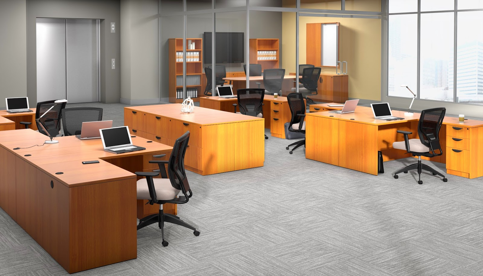 Offices To Go Superior Laminate Casegoods Series