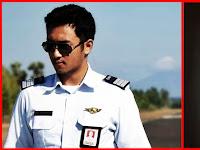 Inilah Pilot Ganteng Haydar Pratama, Mantan Terindah Kahiyang Ayu
