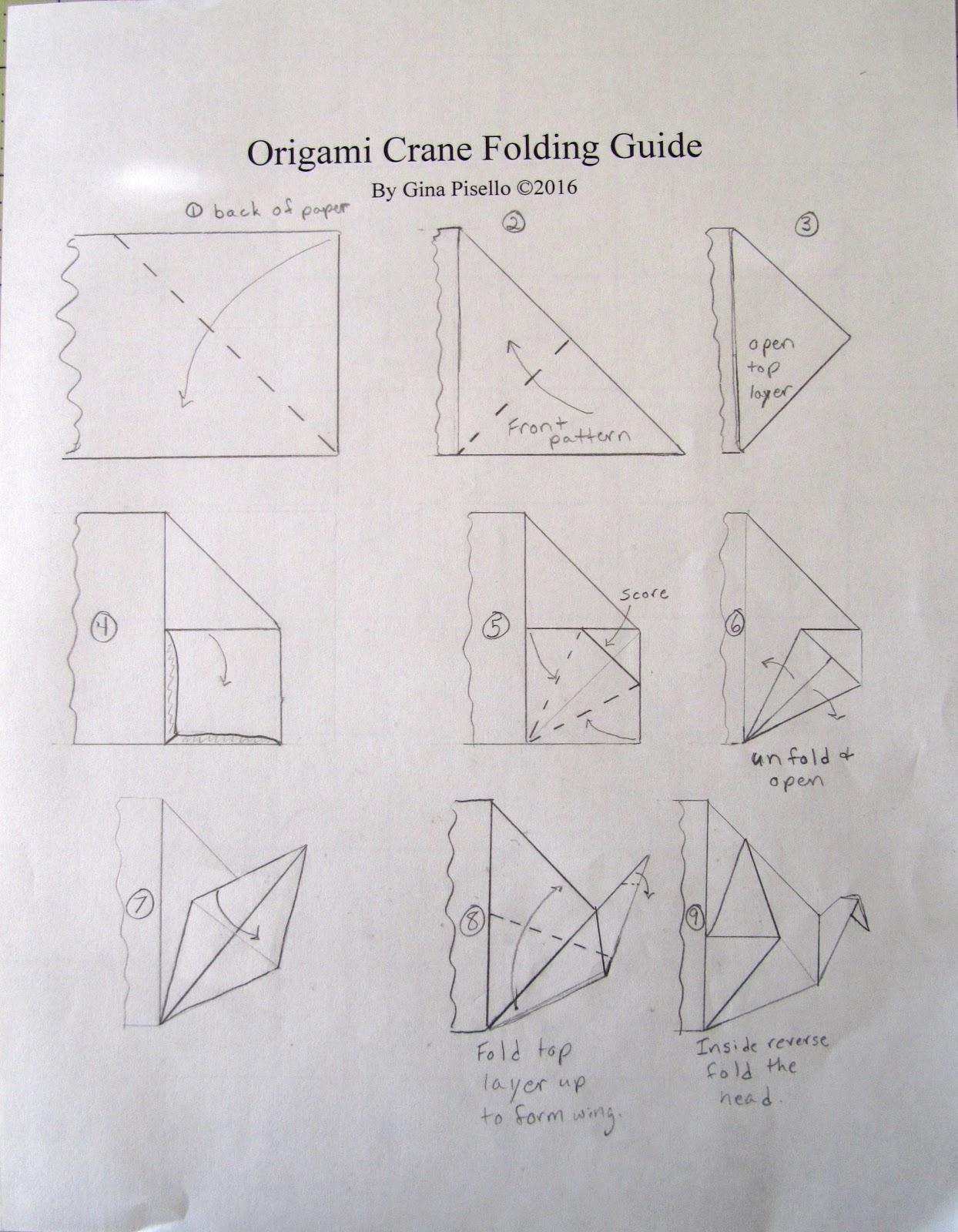 Origami Crane | Origami cisne, Instrucciones de origami, Pajaros ... | 1600x1244