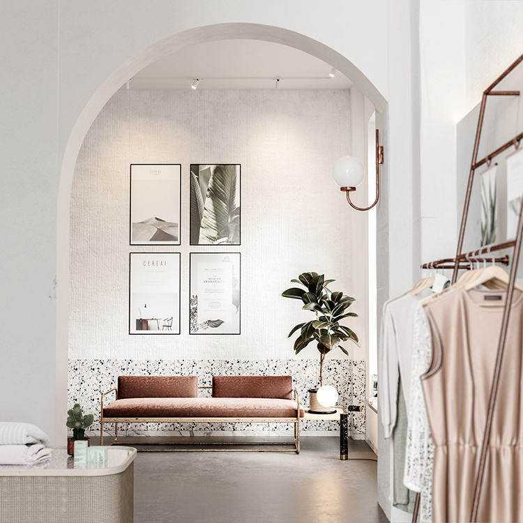 Eclectic boutique store by Bronxes Studio