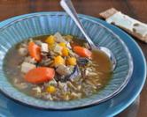 Chicken & Wild Rice Soup (Turkey & Wild Rice Soup)
