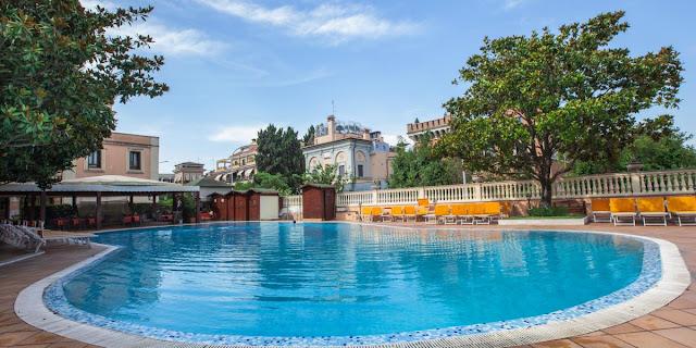 Pool AT GRAND HOTEL GIANICOLO