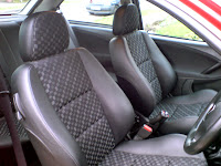 MG ZR Rover 25 Half Leather grey Matrix seats