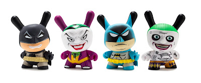 "Batman & The Joker Dunny 5"" Vinyl Figures by Kidrobot x DC Comics"