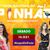 Sábado com grandes nomes da música sertaneja e do funk na Festa do Pinhão