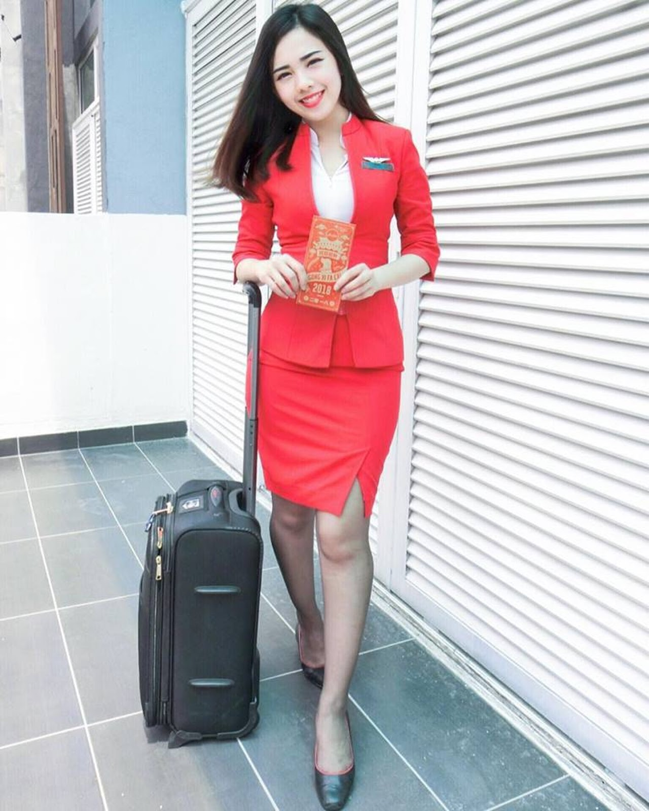 The Ipoh-born said being a cabin crew member in AirAsia has always been her goal since secondary school.