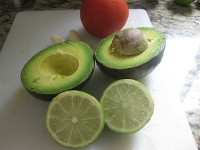 lemon and avocado