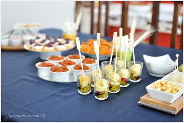 decoração mesa almoço