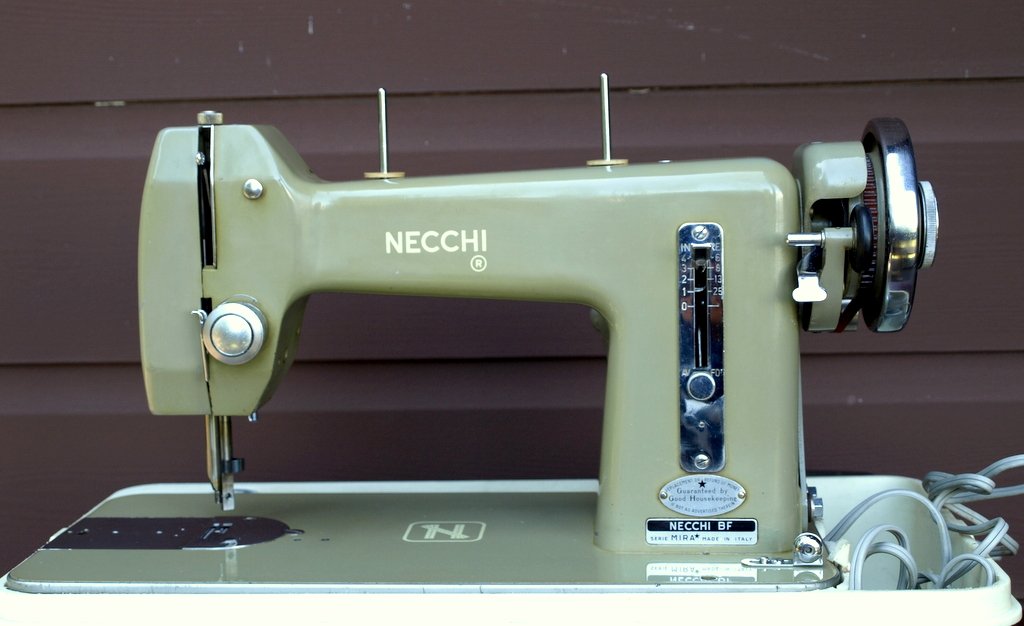 Tight Acres Necchi BF Mira Cool Necchi Bf Mira Sewing Machine