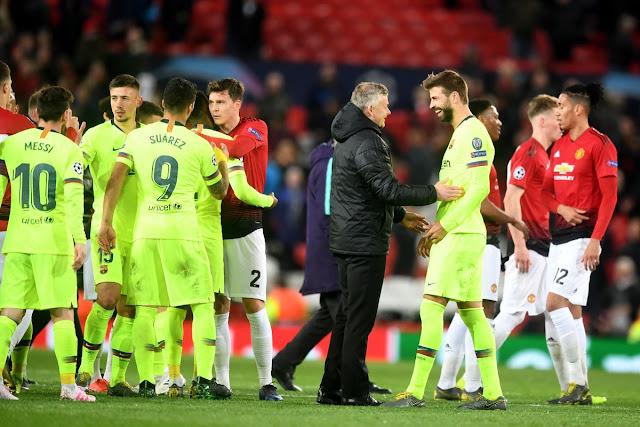 Khi Nou Camp là điểm tựa của Man United! 2