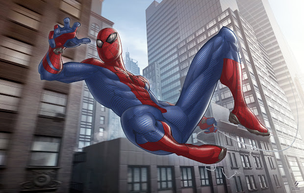 The Amazing Spider-Man by Patrick Brown