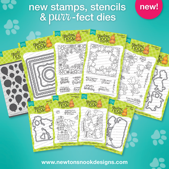 March 2019 New Products | Newton's Nook Designs #newtonsnook