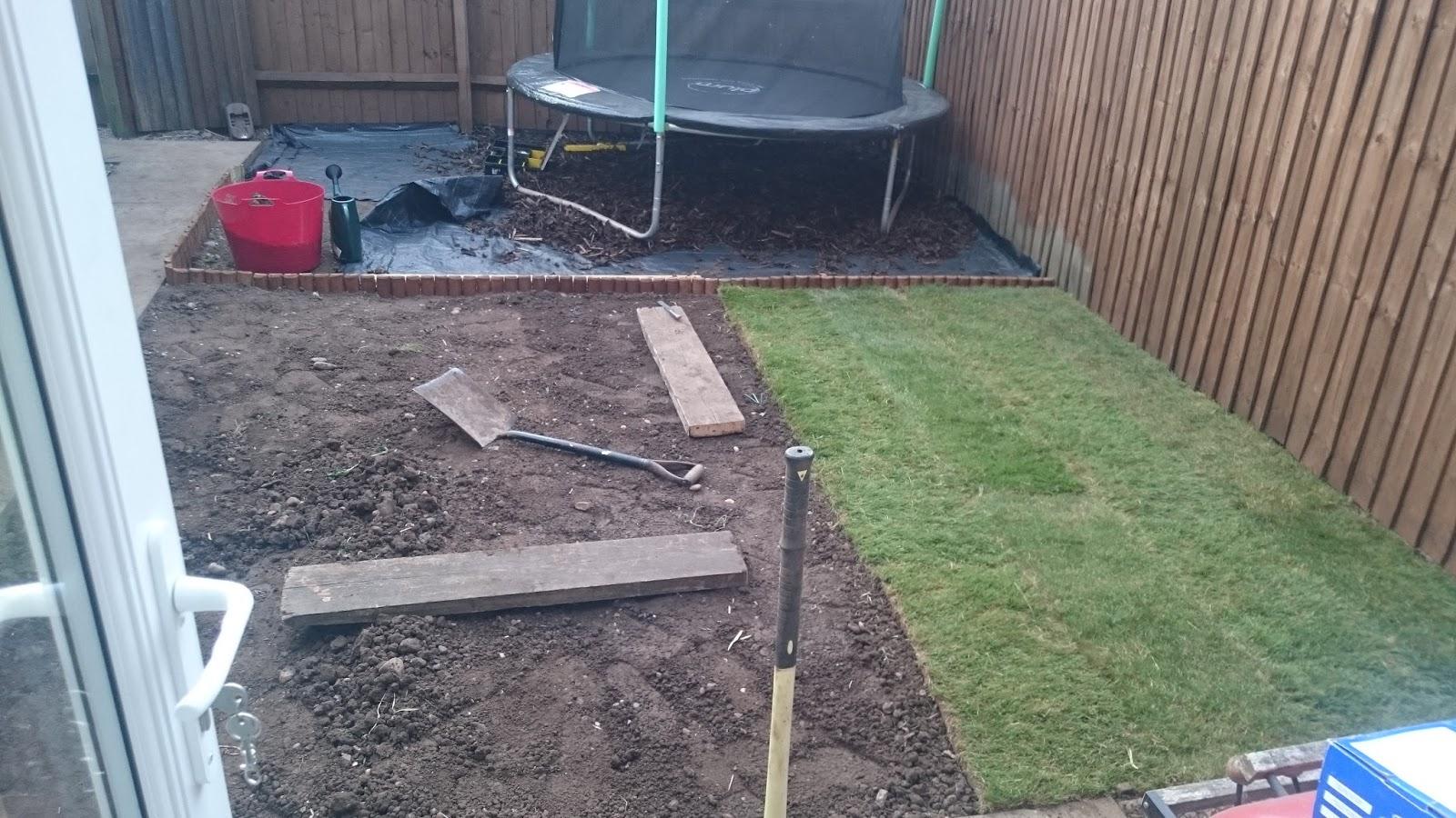 transforming our small garden