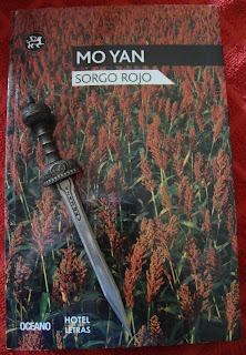 Portada del libro Sorgo rojo, de Mo Yan