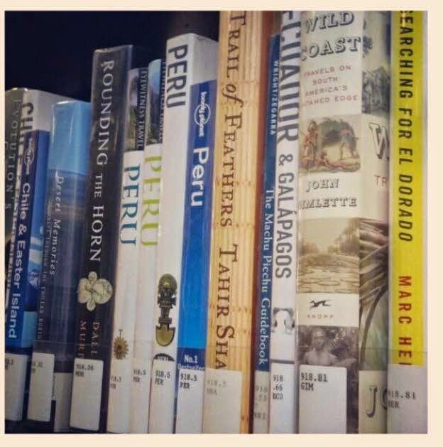Library Travel Books