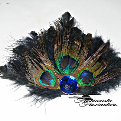 Peacock feather fascinator Nairobi, Kenya