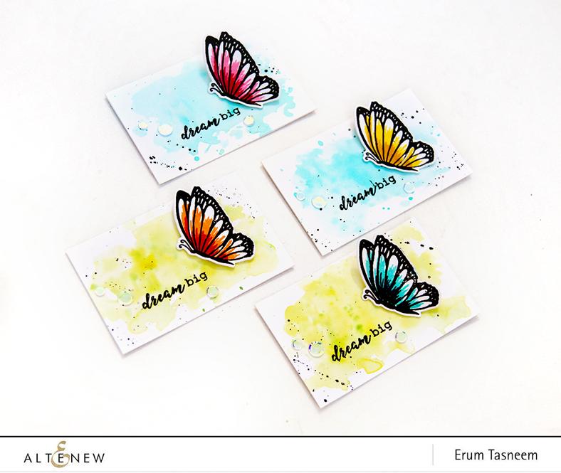Altenew Dream Big Stamp Set | Erum Tasneem | @pr0digy0