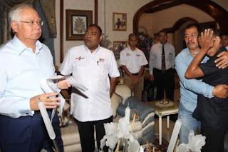 PM Najib Melawat Mangsa Culik Abu Sayyaf