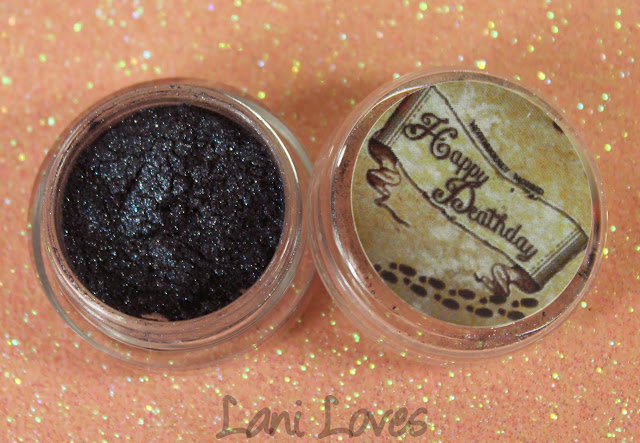 Notoriously Morbid The Grey Lady Eyeshadow Swatches & Review