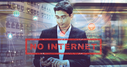 India immediately shut down Internet