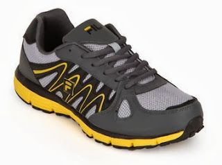 Fila Benito Yellow Running Shoes worth Rs.2399 for Rs.1358 Only