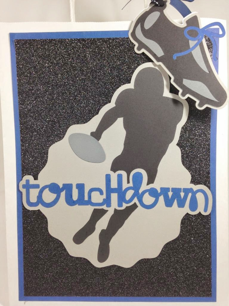 Cricut Total Sports Touchdown Gift Bag
