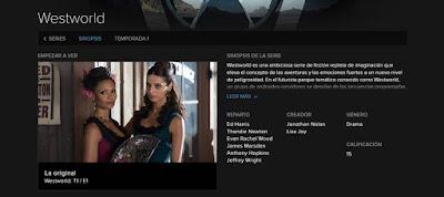 Reseña de Westworld