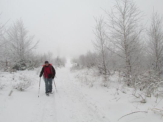 W drodze na Czupel.