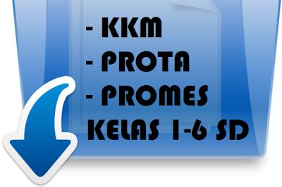 KKM, PROTA, dan PROMES Semester 2 Kelas 1-6 SD