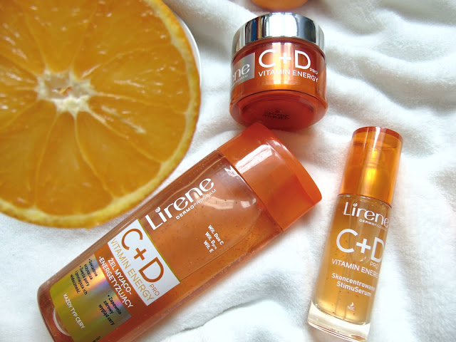 Lirene - C+D Pro Vitamin Energy - Energetyzująca seria do pielęgnacji twarzy