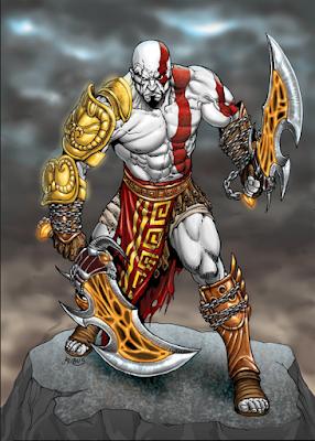 Attack on titan Tribute Game Kratos Skin
