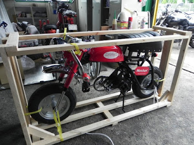 モンキーの自転車