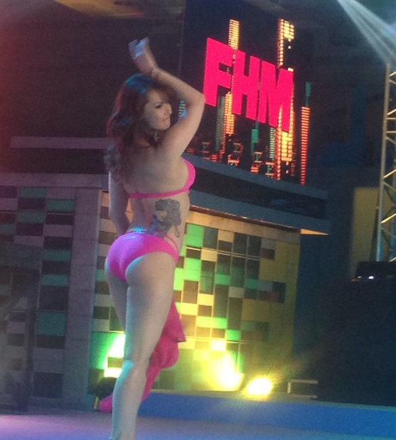 Maria Ozawa at the FHM 100 Sexiest Woman Victory party