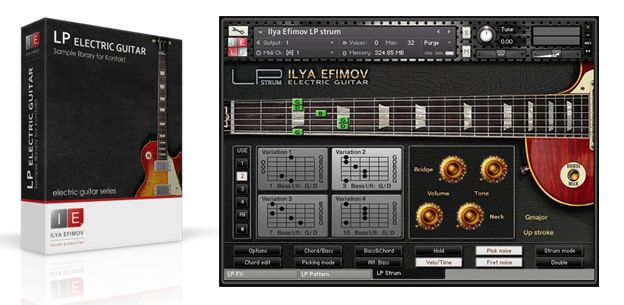 Ilya Efimov LP Electric Guitar Complete Les Paul VST