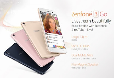Asus Zenfone 3 Go Specification & Price