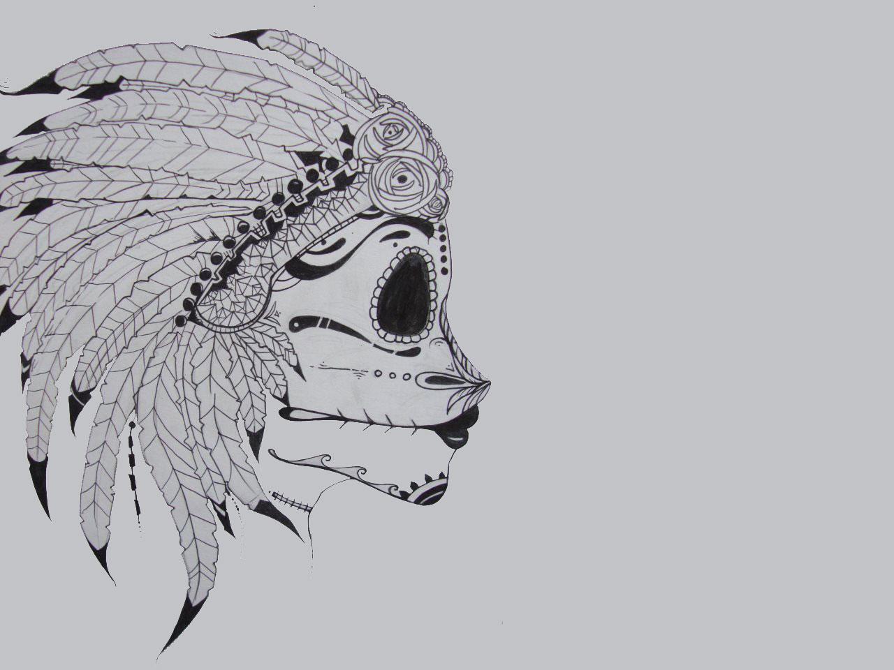 7ef296e5d 11 Beautiful Red Indian Tribal Tattoo design wallpapers - Tattoo ...