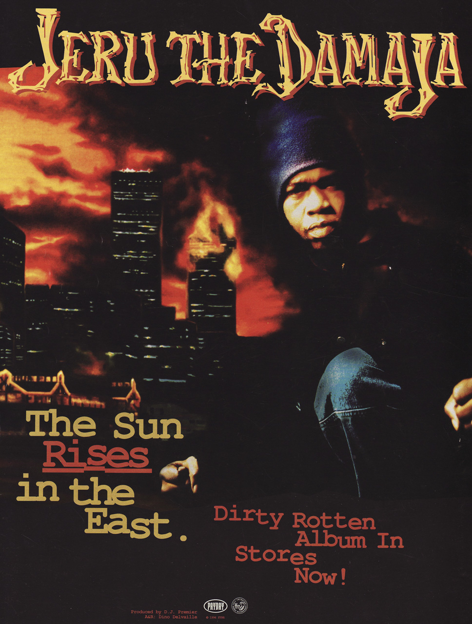 Jeru The Damaja The Sun Rises In The East Advertisement 1994