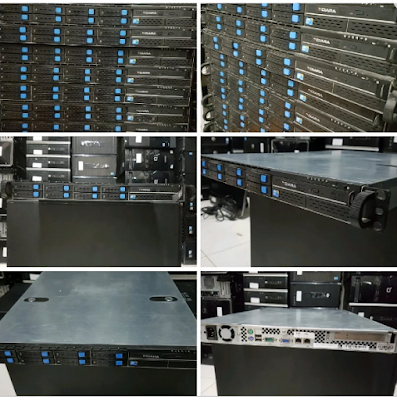Ready Stock Server UNBK Rackmoun1 U Xeon X3470 Quad Core 8 Core