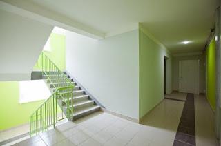 Дизайн цвета лестничной клетки Волгоград