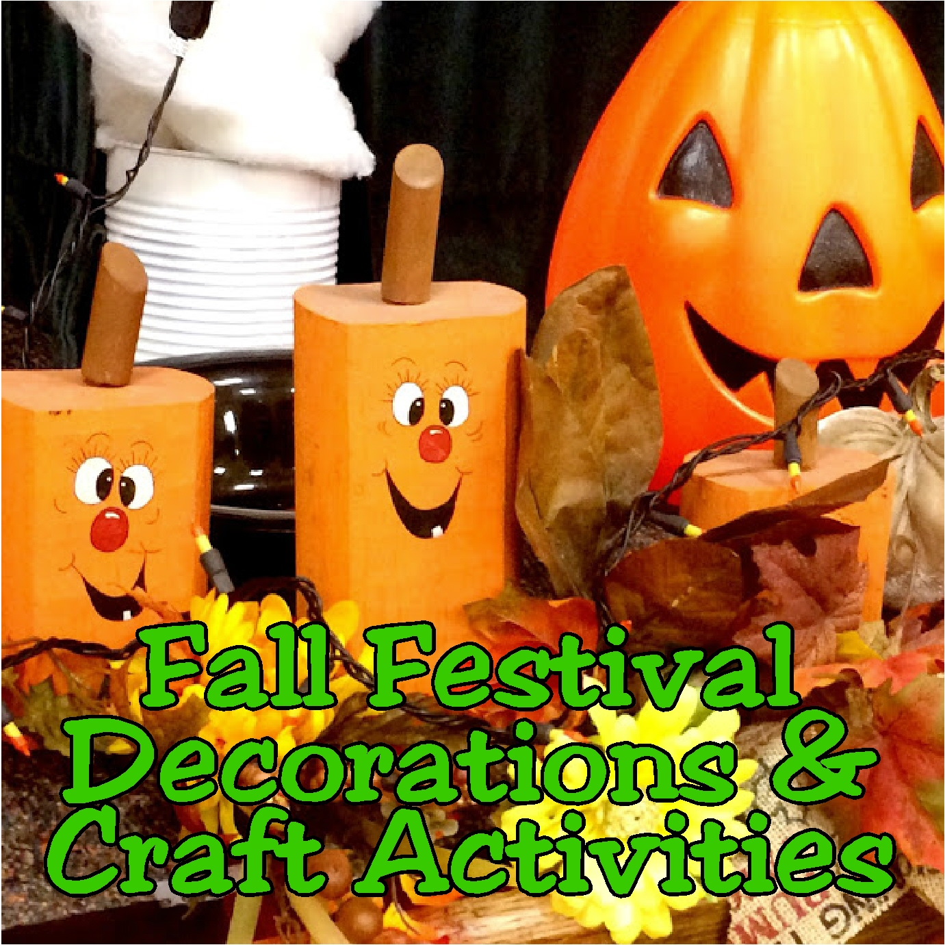 Fall Festival Party Decorations And Craft Activities Diy Party Mom