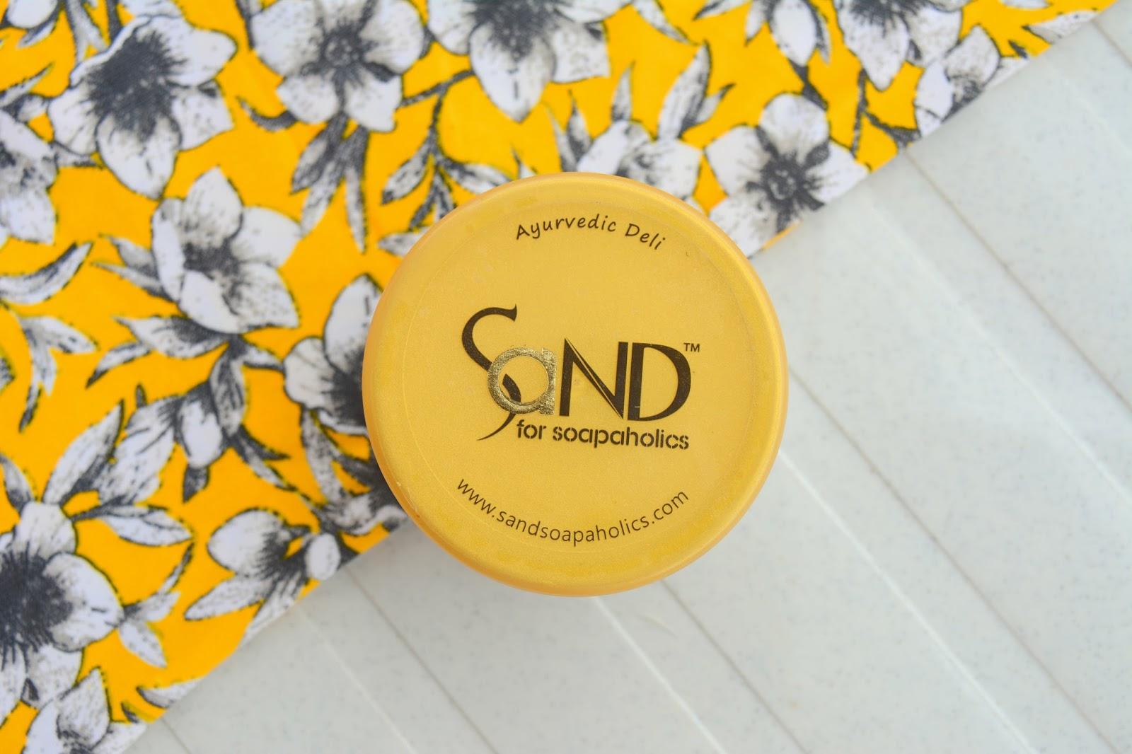 SaND for Soapaholics 'Lal Kela' Hair Mask Review