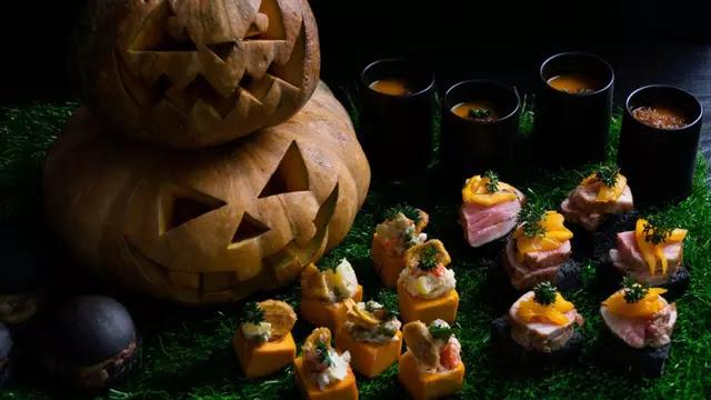 Suasana Seram Halloween dengan Sajian Menu Spesial Hotel Bintang 5