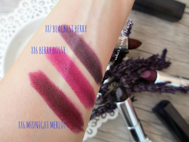 Maybelline - Color Sensational Bold - Swatches