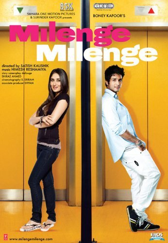 Poster of Milenge Milenge 2010 720p Hindi DVDRip Full Movie Download