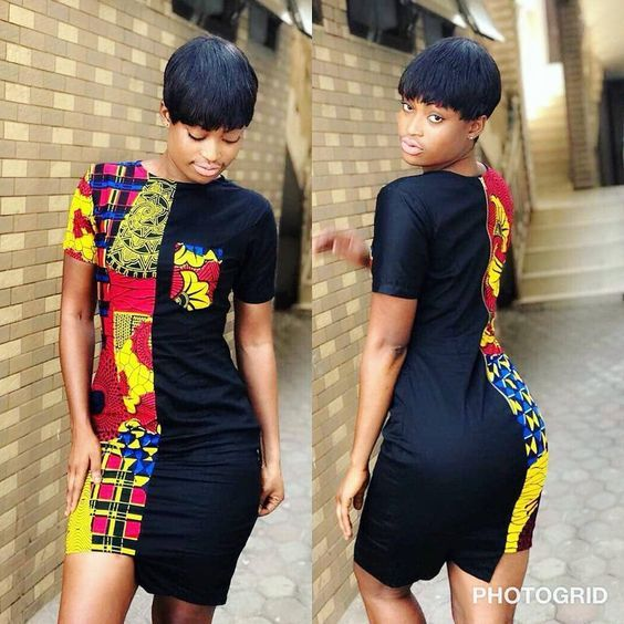 Ankara Short Gown For Gallant Ladies Worldwide - WearitAfrica