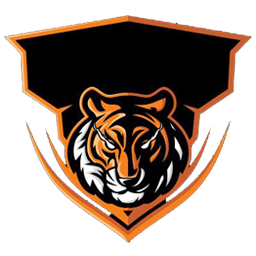 mentahan logo esport harimau
