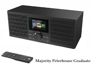 Majority Peterhouse Graduate Internet radio