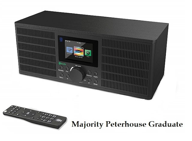 Majority Peterhouse Graduate - radio with great design and features
