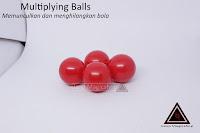 Jual Alat sulap Multiplying ball